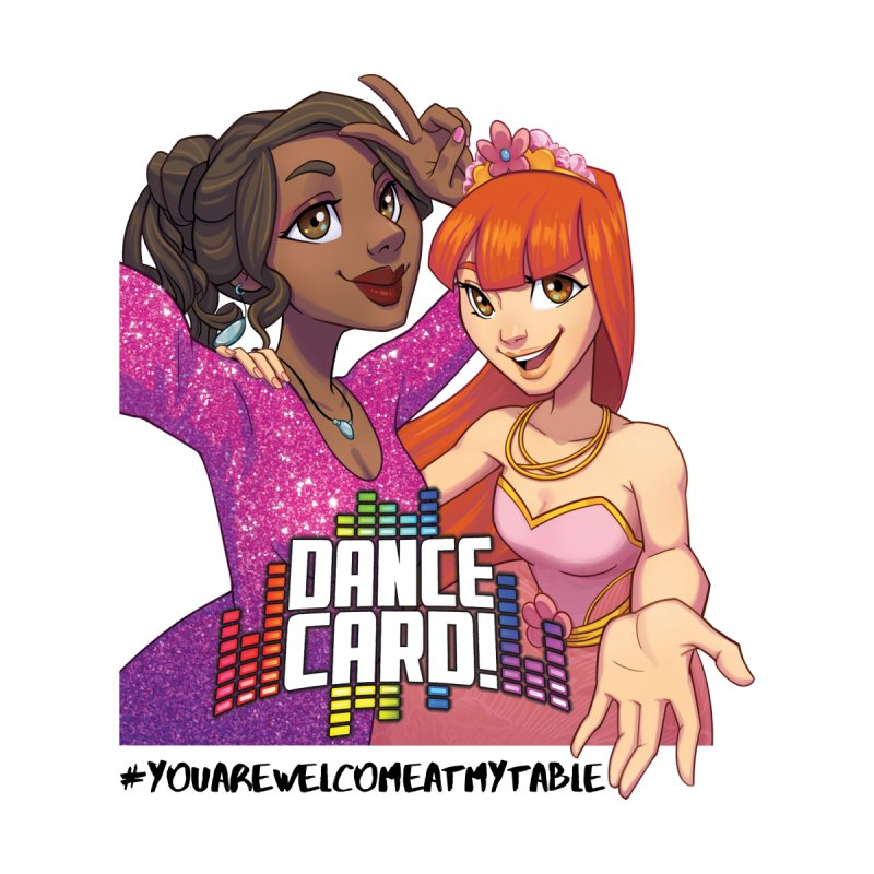 You Are Welcome At My Table (Dance Card) (Light) by #youarewelcomeatmytable | A Pawn's Perspective