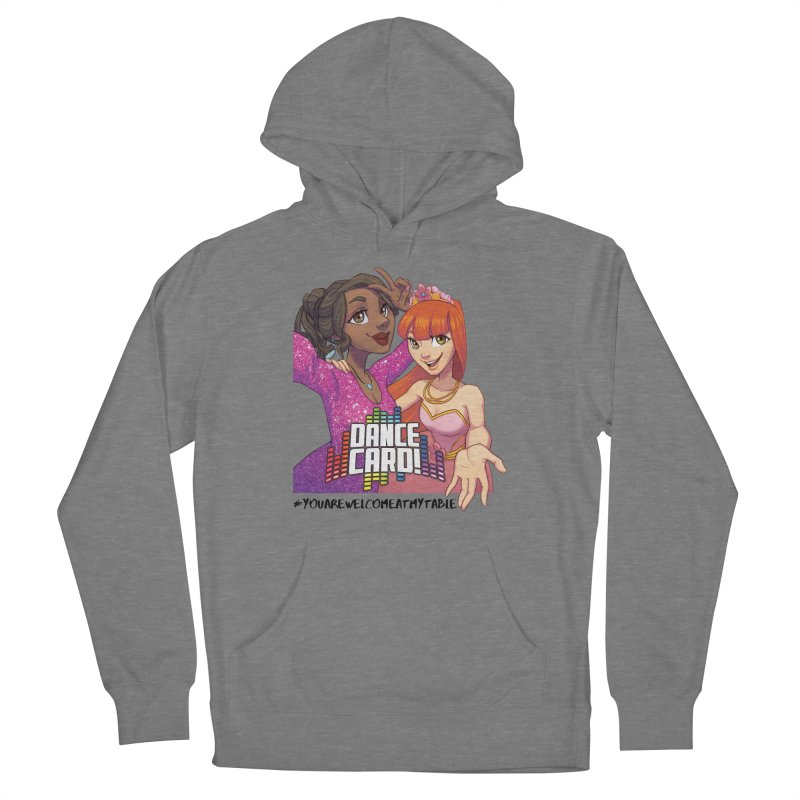 You Are Welcome At My Table (Dance Card) (Light) Women's Pullover Hoody by #youarewelcomeatmytable | A Pawn's Perspective