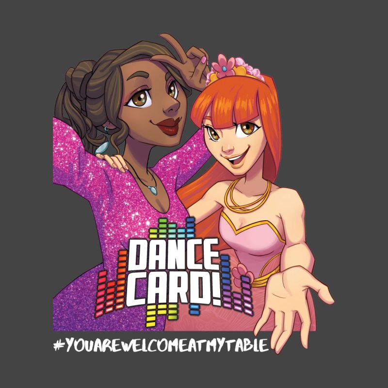 You Are Welcome At My Table (Dance Card) (Dark) Women's T-Shirt by #youarewelcomeatmytable | A Pawn's Perspective