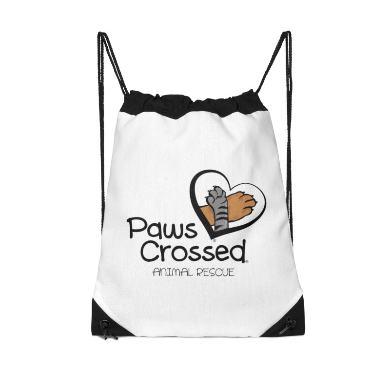 Paws Crossed! Accessories Drawstring Bag Bag by Paws Crossed Online Store