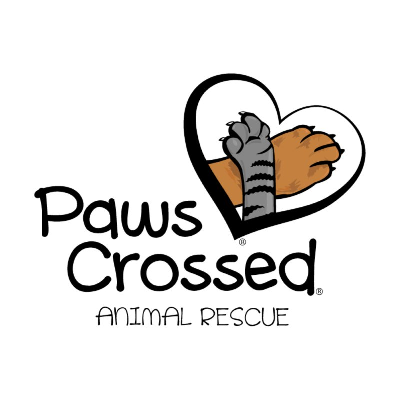 Paws Crossed! Men's Longsleeve T-Shirt by Paws Crossed Online Store