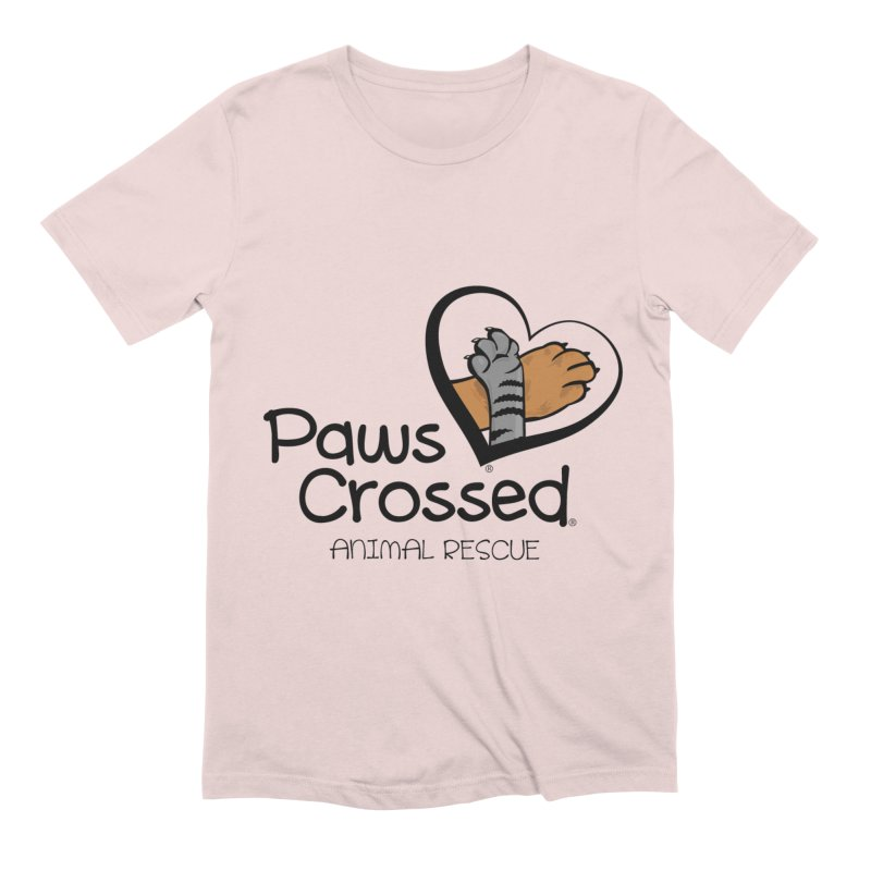 Paws Crossed! Men's Extra Soft T-Shirt by Paws Crossed Online Store
