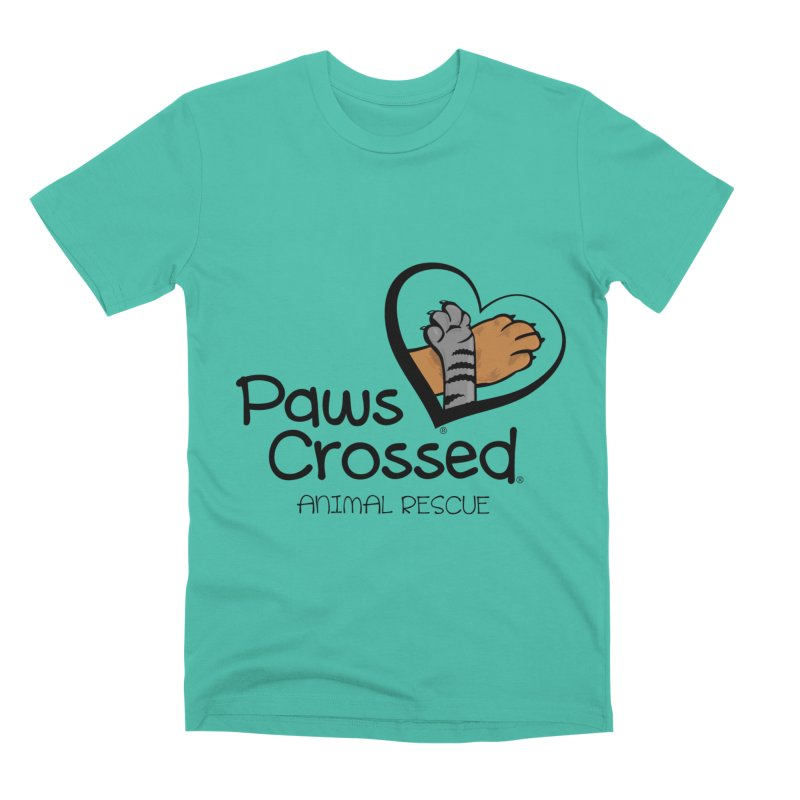 Paws Crossed! Men's Premium T-Shirt by Paws Crossed Online Store