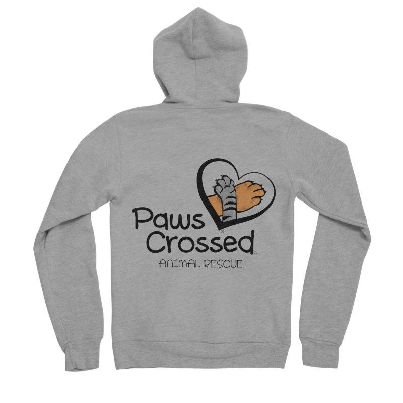 Paws Crossed! Men's Sponge Fleece Zip-Up Hoody by Paws Crossed Online Store