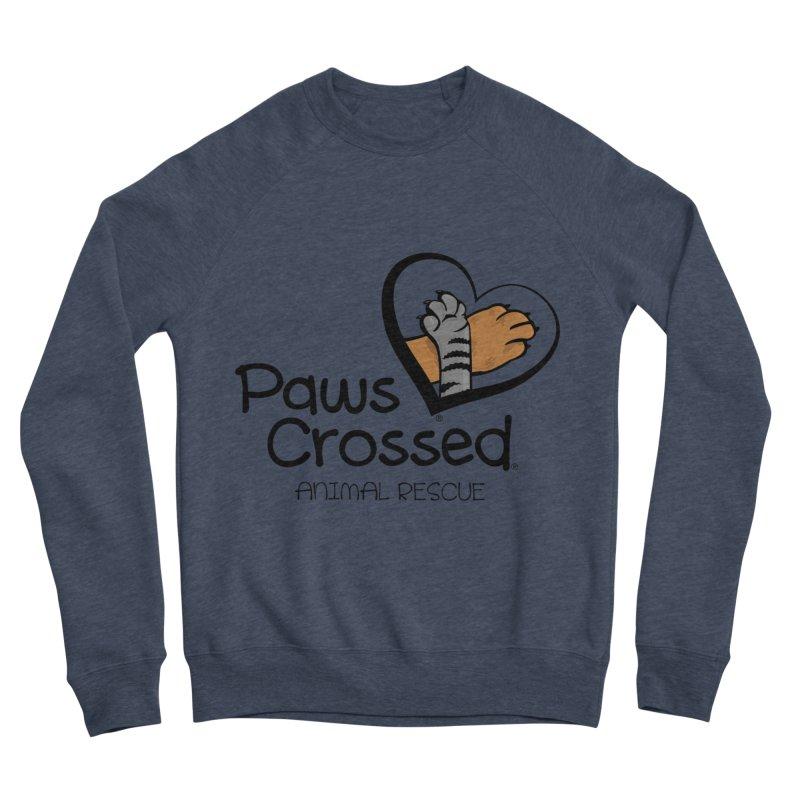 Paws Crossed! Men's Sponge Fleece Sweatshirt by Paws Crossed Online Store