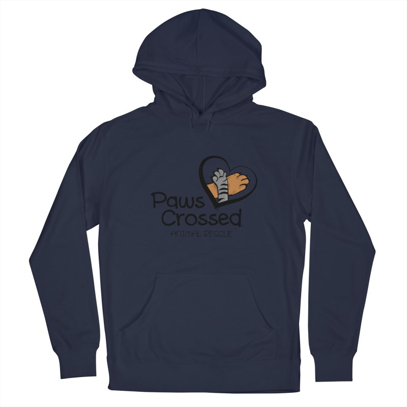 Paws Crossed! Men's Pullover Hoody by Paws Crossed Online Store
