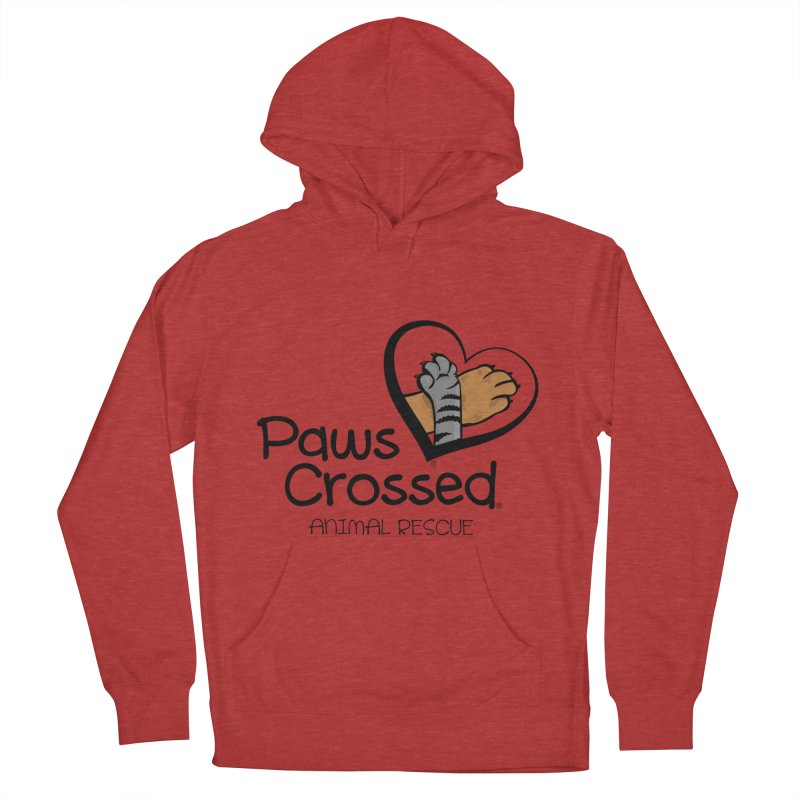 Paws Crossed! Women's French Terry Pullover Hoody by Paws Crossed Online Store
