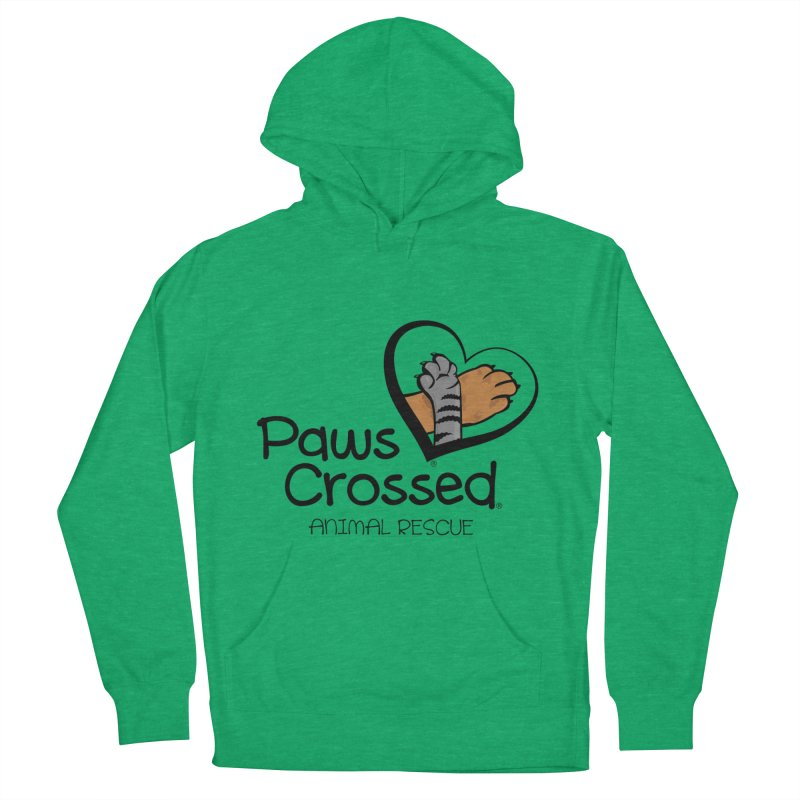 Paws Crossed! Men's French Terry Pullover Hoody by Paws Crossed Online Store
