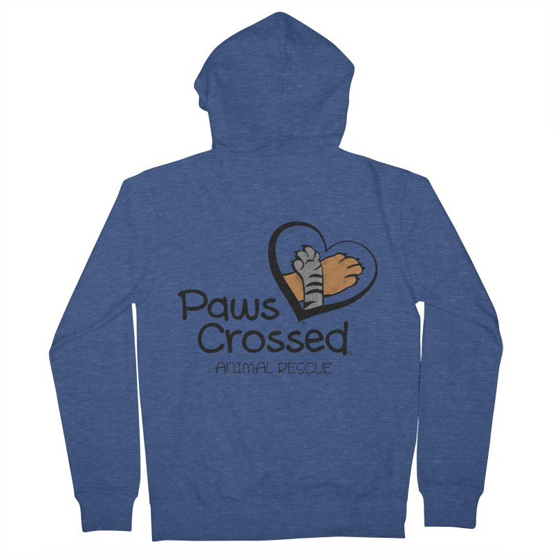 Paws Crossed! Women's French Terry Zip-Up Hoody by Paws Crossed Online Store