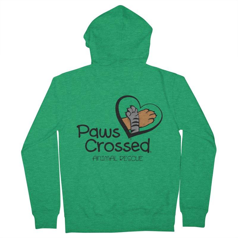 Paws Crossed! Men's Zip-Up Hoody by Paws Crossed Online Store