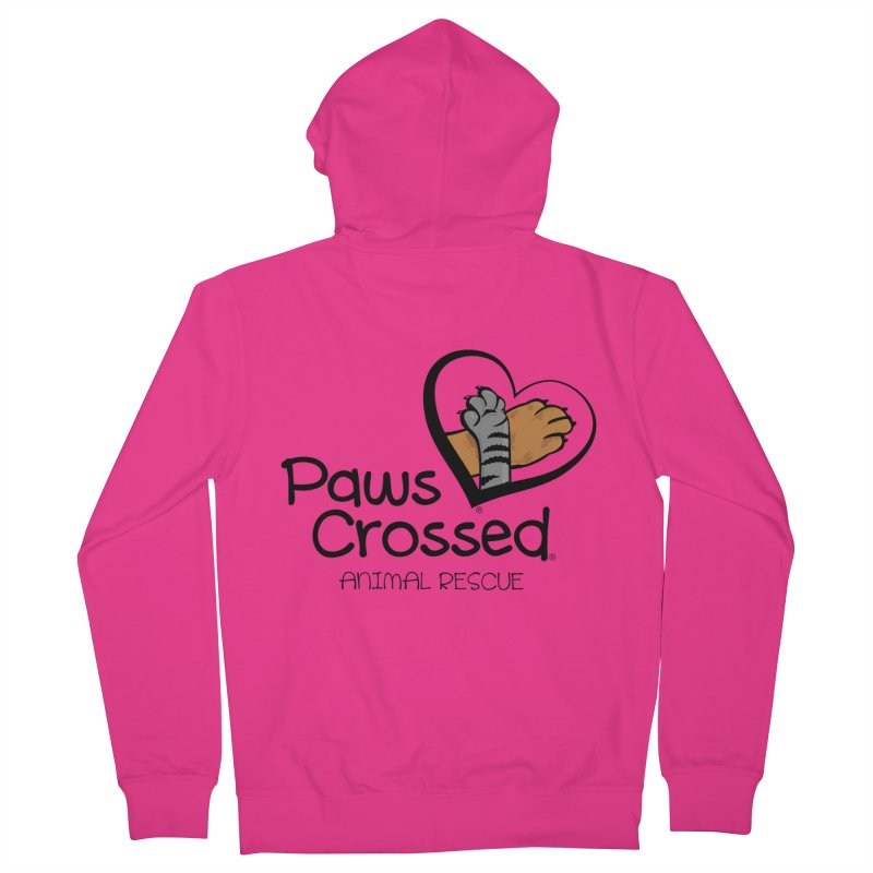 Paws Crossed! Men's French Terry Zip-Up Hoody by Paws Crossed Online Store