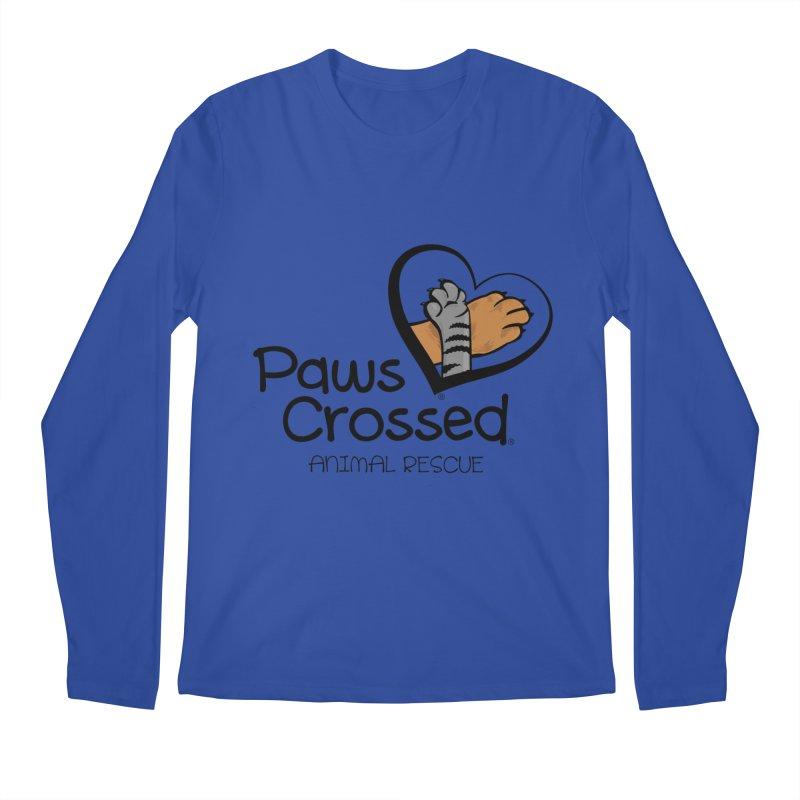 Paws Crossed! Men's Regular Longsleeve T-Shirt by Paws Crossed Online Store