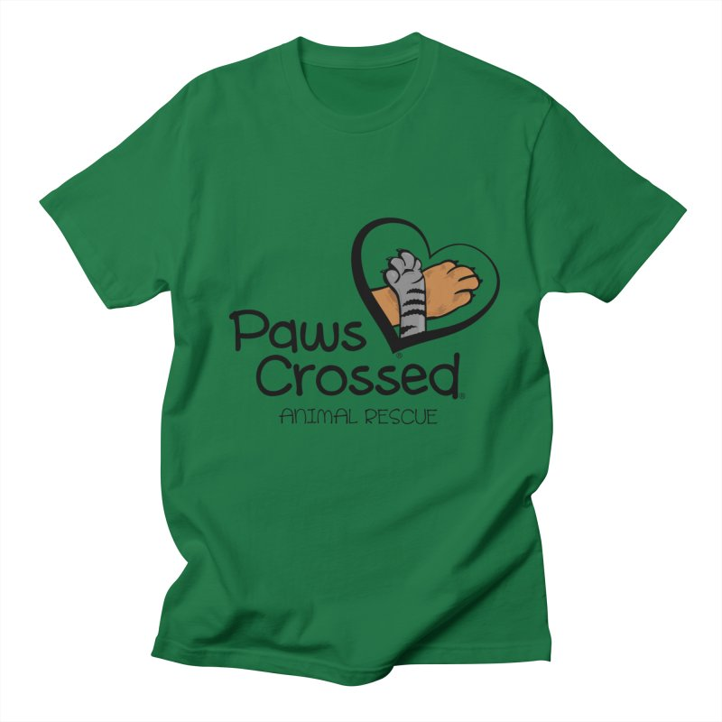 Paws Crossed! Men's T-Shirt by Paws Crossed Online Store