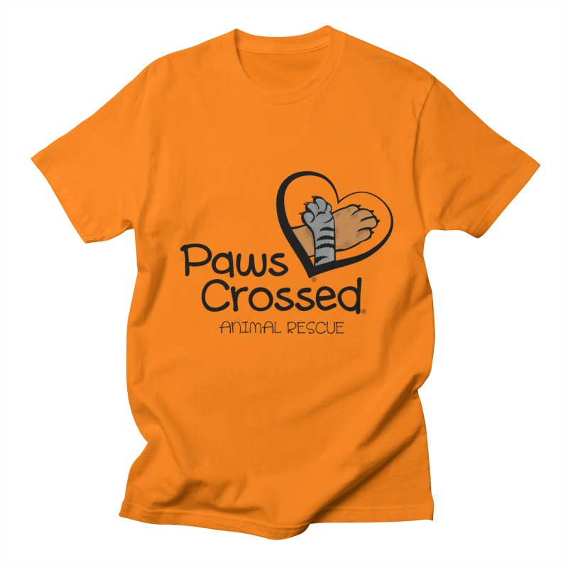 Paws Crossed! Men's Regular T-Shirt by Paws Crossed Online Store