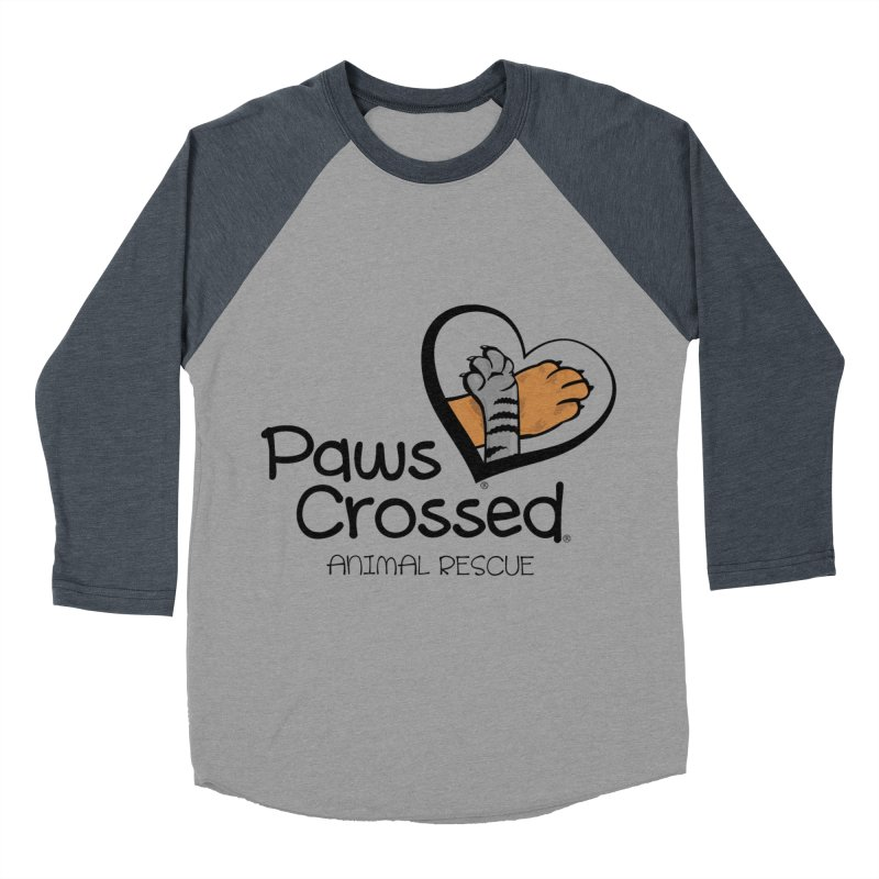 Paws Crossed! Women's Baseball Triblend Longsleeve T-Shirt by Paws Crossed Online Store