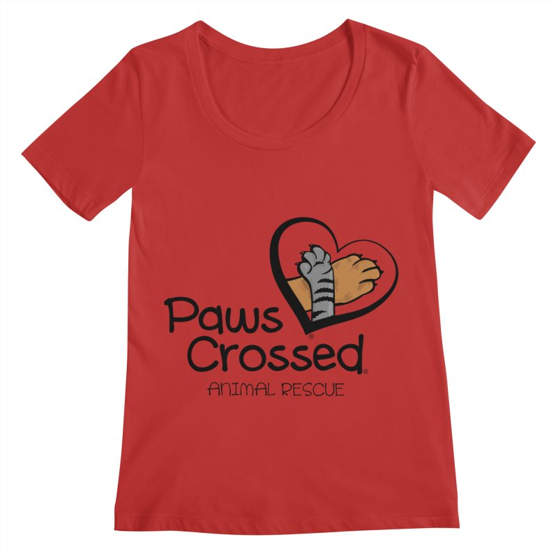Paws Crossed! Women's Regular Scoop Neck by Paws Crossed Online Store