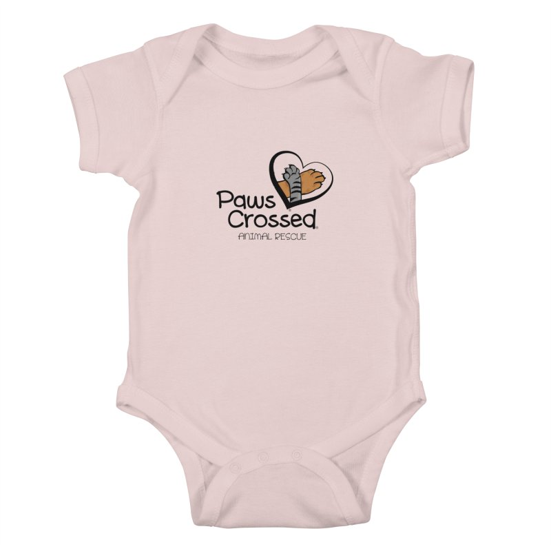Paws Crossed! Kids Baby Bodysuit by Paws Crossed Online Store
