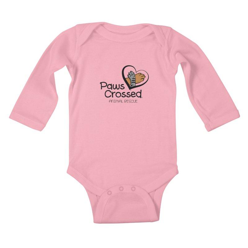 Paws Crossed! Kids Baby Longsleeve Bodysuit by Paws Crossed Online Store