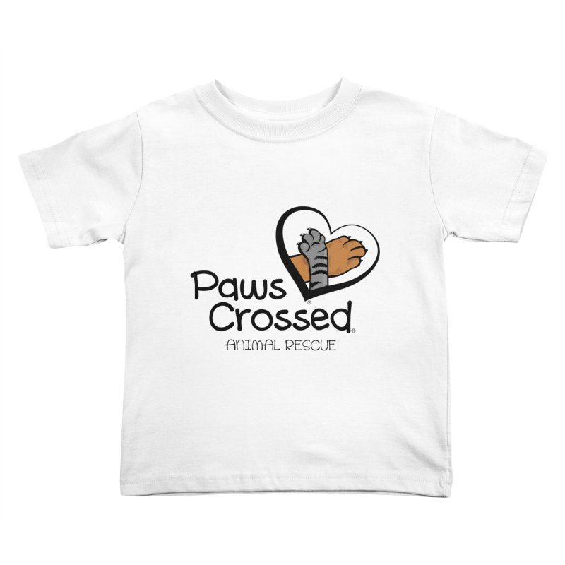 Paws Crossed! Kids Toddler T-Shirt by Paws Crossed Online Store
