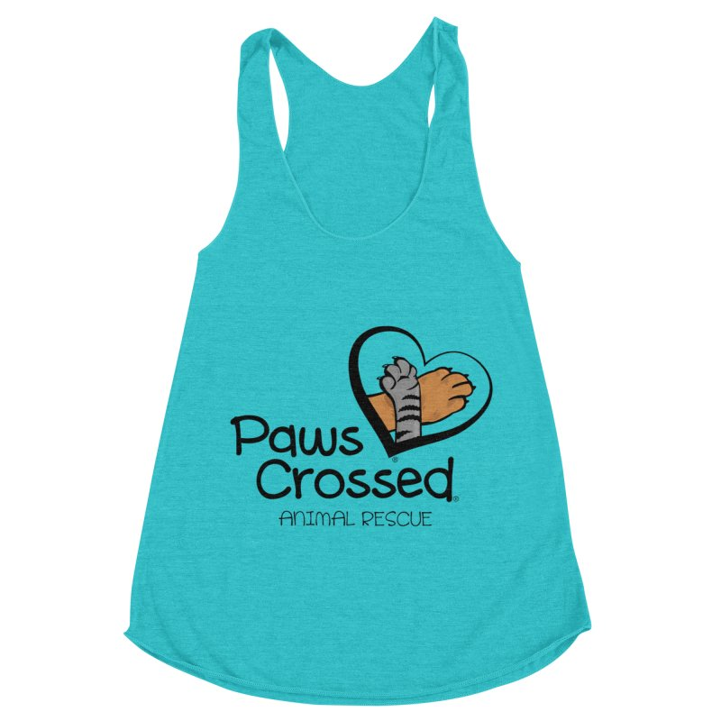 Paws Crossed! Women's Racerback Triblend Tank by Paws Crossed Online Store