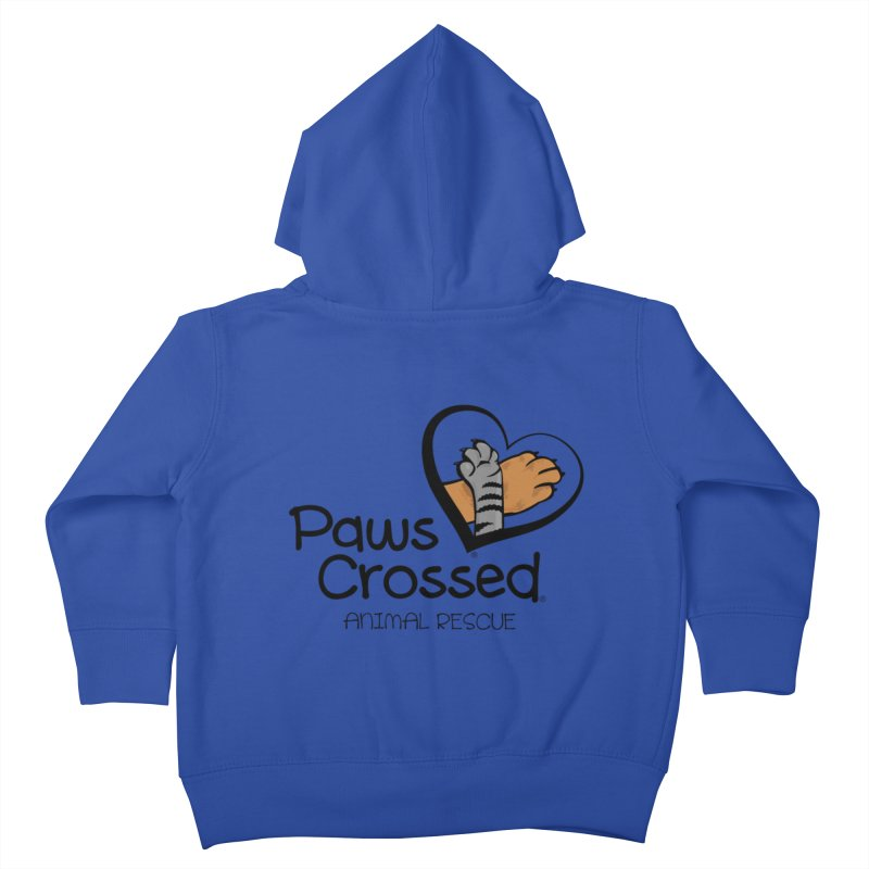 Paws Crossed! Kids Toddler Zip-Up Hoody by Paws Crossed Online Store