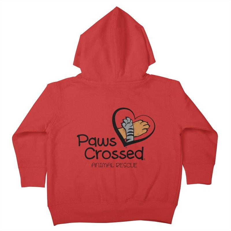 Paws Crossed! Kids Toddler Zip-Up Hoody by Paws Crossed Online Store
