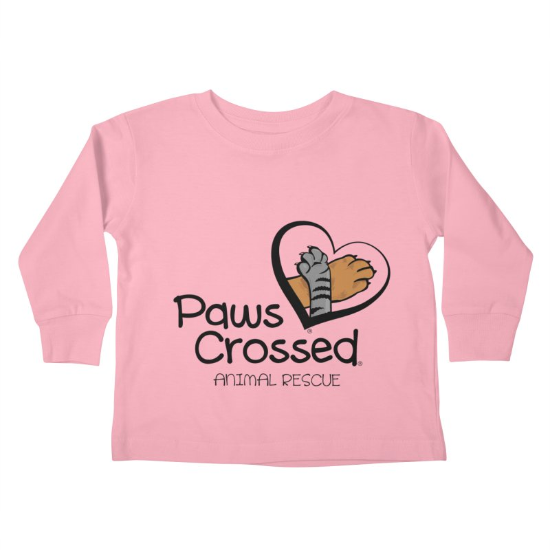 Paws Crossed! Kids Toddler Longsleeve T-Shirt by Paws Crossed Online Store