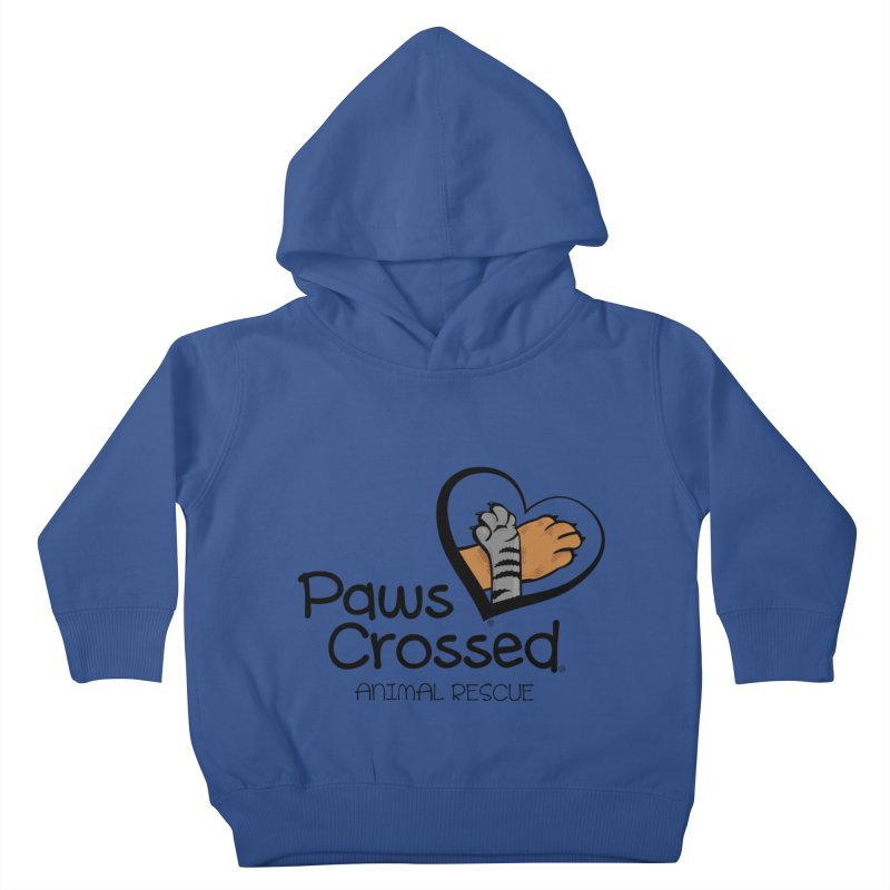 Paws Crossed! Kids Toddler Pullover Hoody by Paws Crossed Online Store