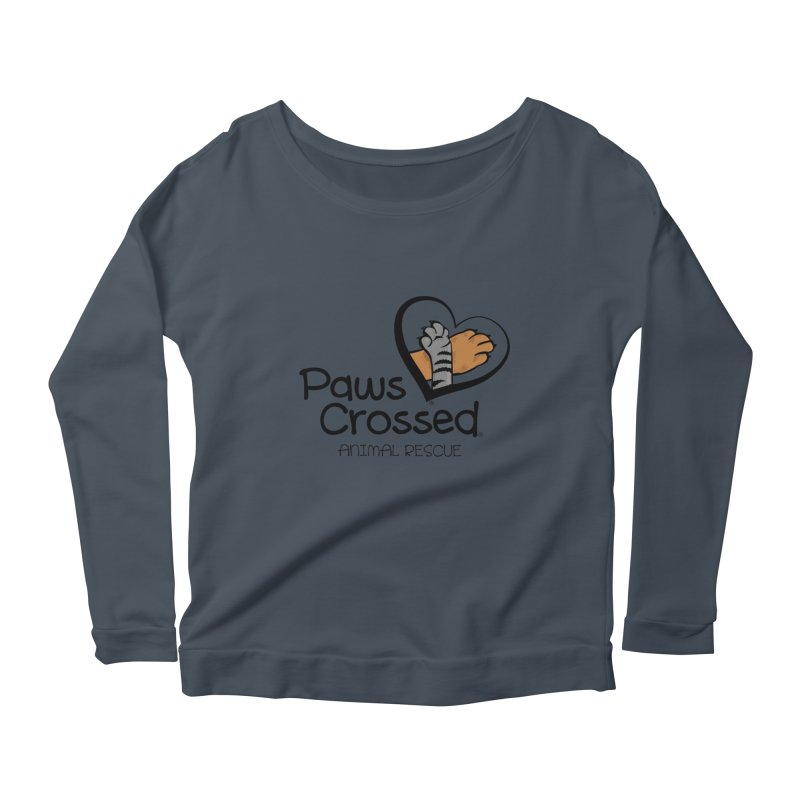 Paws Crossed! Women's Scoop Neck Longsleeve T-Shirt by Paws Crossed Online Store