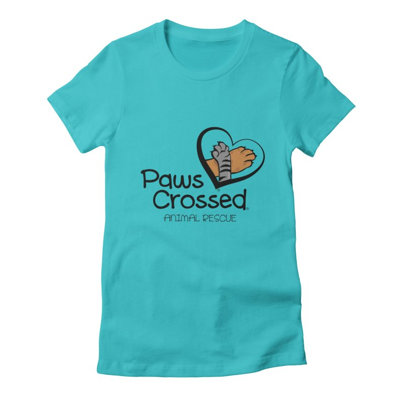 Paws Crossed! Women's T-Shirt by Paws Crossed Online Store