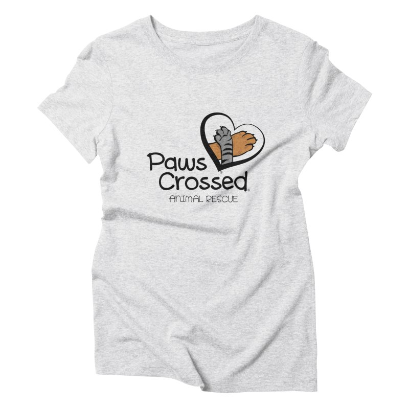 Paws Crossed! Women's Triblend T-Shirt by Paws Crossed Online Store