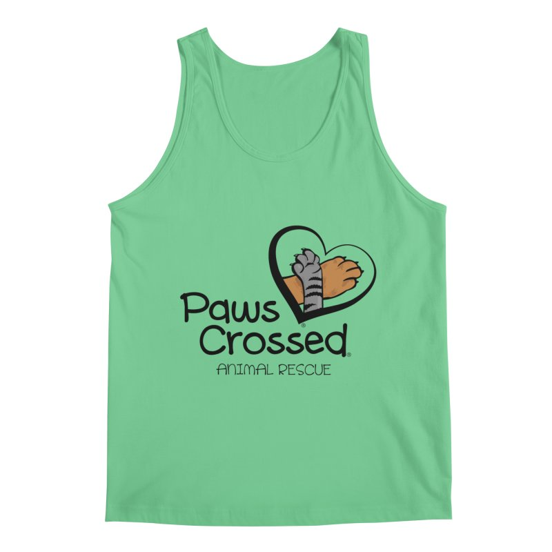 Paws Crossed! Men's Regular Tank by Paws Crossed Online Store