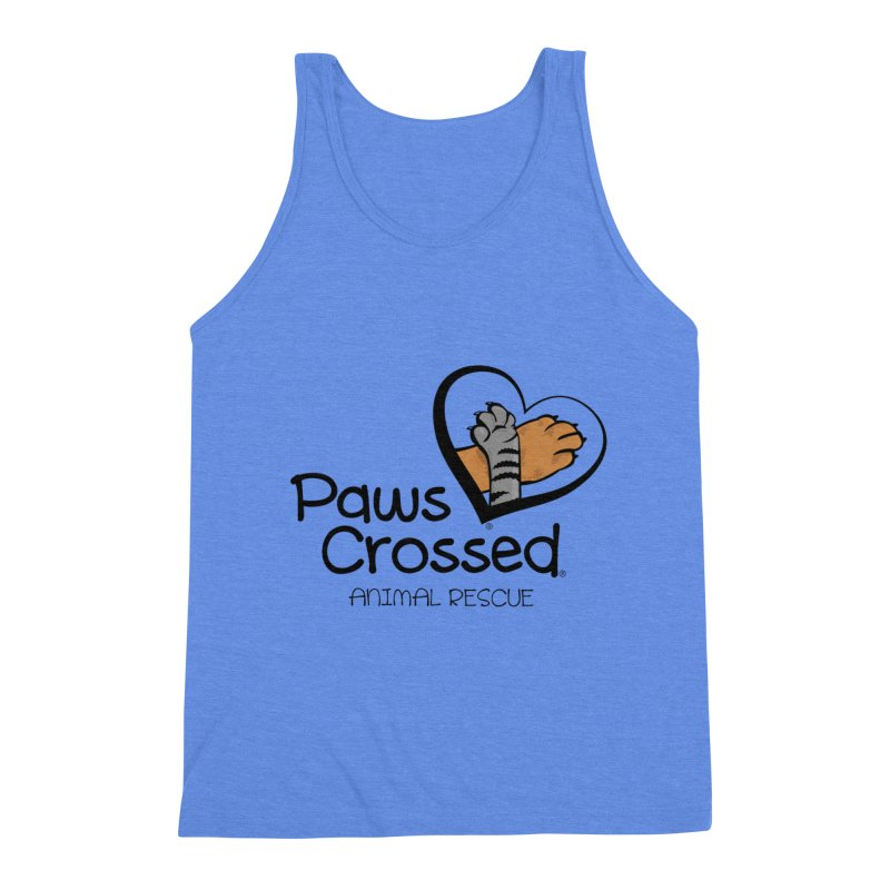 Paws Crossed! Men's Triblend Tank by Paws Crossed Online Store