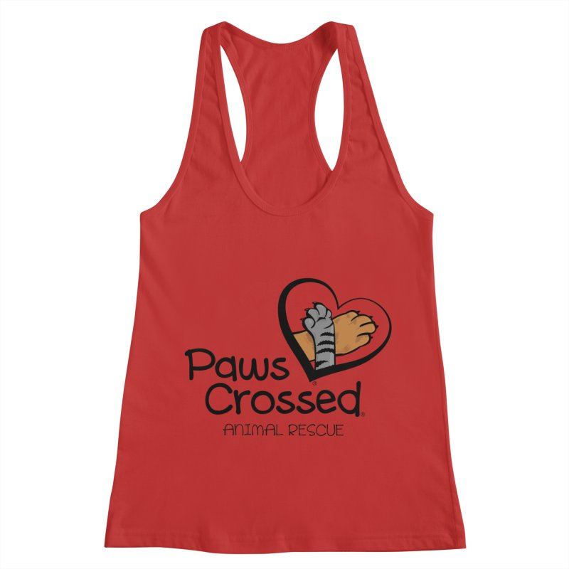 Paws Crossed! Women's Racerback Tank by Paws Crossed Online Store