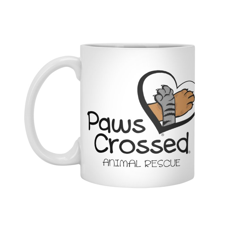 Paws Crossed! Accessories Standard Mug by Paws Crossed Online Store
