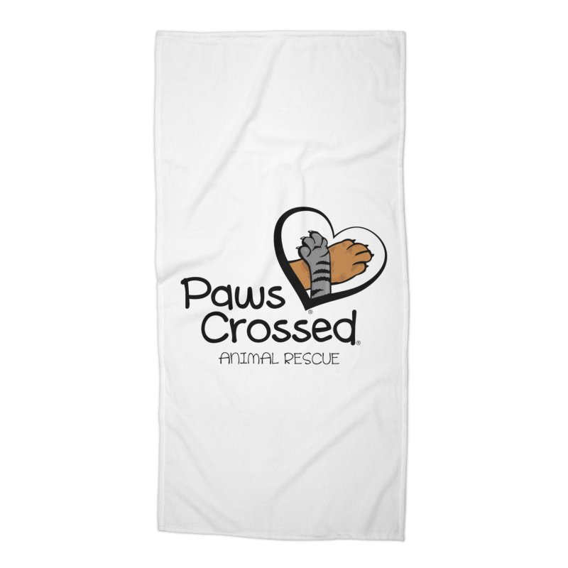 Paws Crossed! Accessories Beach Towel by Paws Crossed Online Store