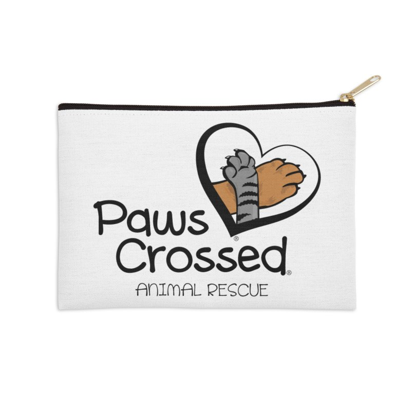 Paws Crossed! Accessories Zip Pouch by Paws Crossed Online Store