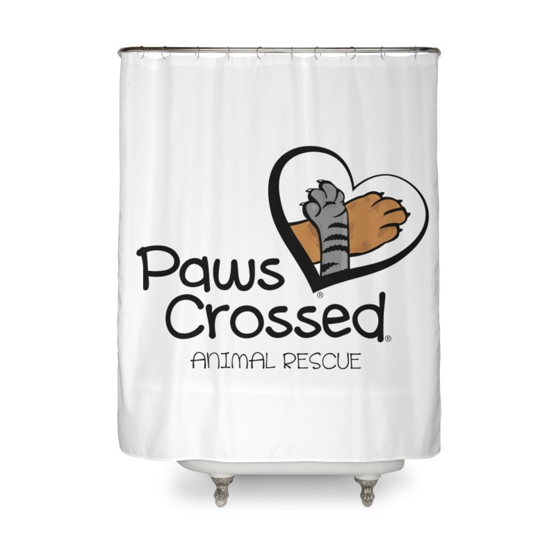 Paws Crossed! Home Shower Curtain by Paws Crossed Online Store