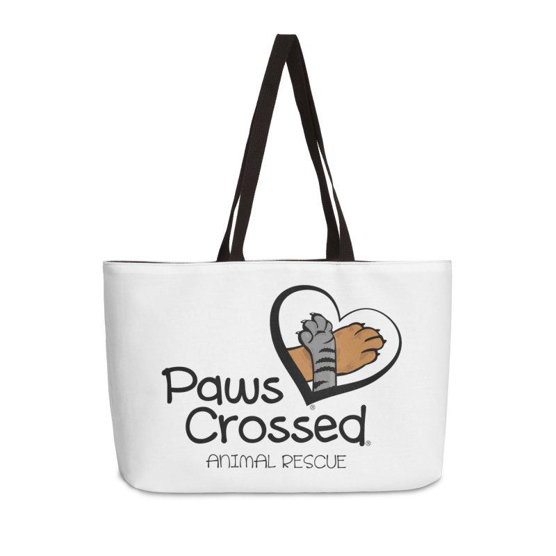 Paws Crossed! Accessories Weekender Bag Bag by Paws Crossed Online Store