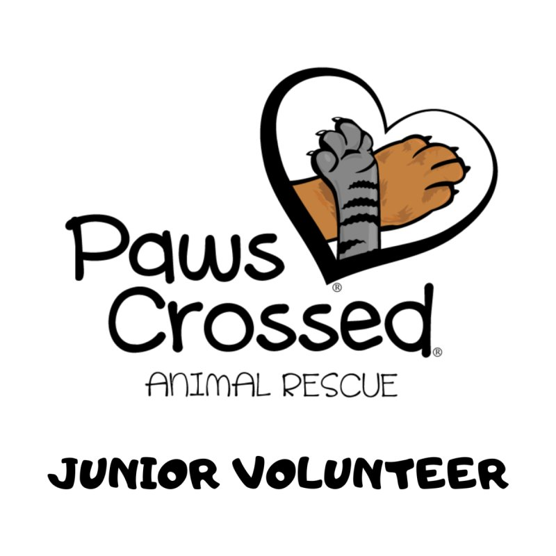 Junior Volunteer Kids T-Shirt by Paws Crossed Online Store