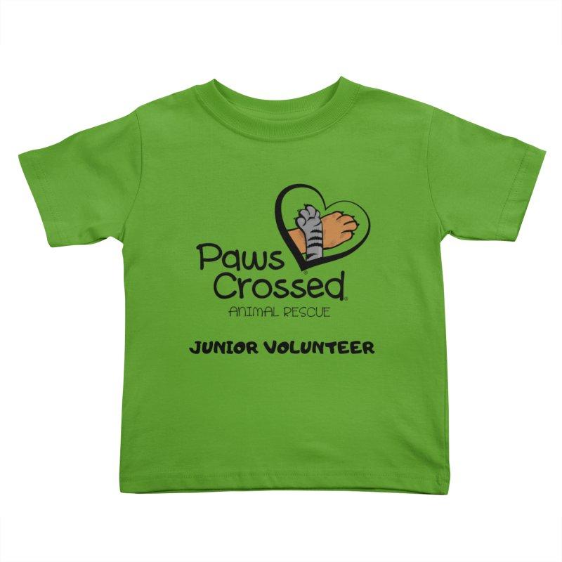 Junior Volunteer Kids Toddler T-Shirt by Paws Crossed Online Store