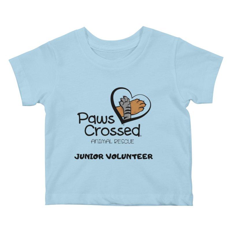 Junior Volunteer Kids Baby T-Shirt by Paws Crossed Online Store