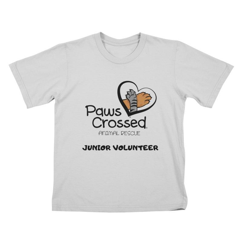 Junior Volunteer Kids T-Shirt by Paws Crossed Online Store