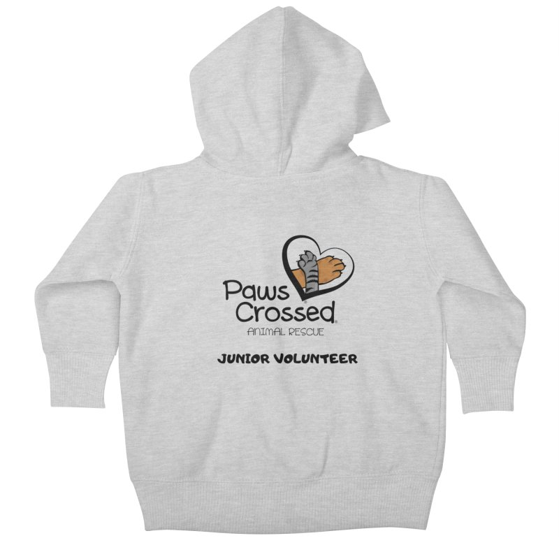 Junior Volunteer Kids Baby Zip-Up Hoody by Paws Crossed Online Store
