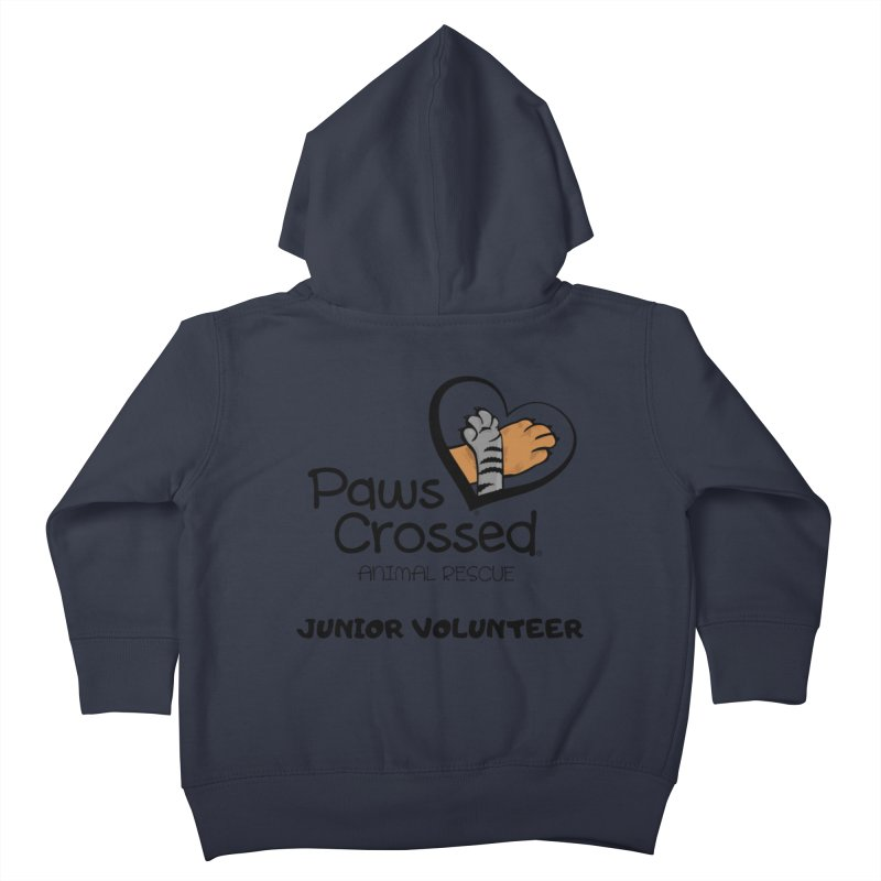 Junior Volunteer Kids Toddler Zip-Up Hoody by Paws Crossed Online Store