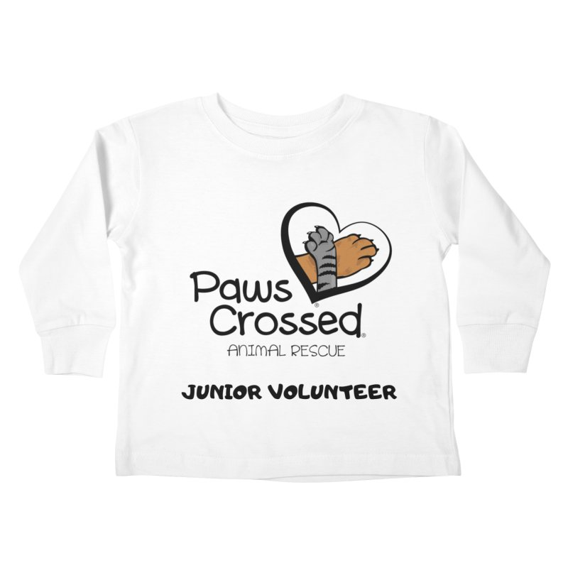 Junior Volunteer Kids Toddler Longsleeve T-Shirt by Paws Crossed Online Store