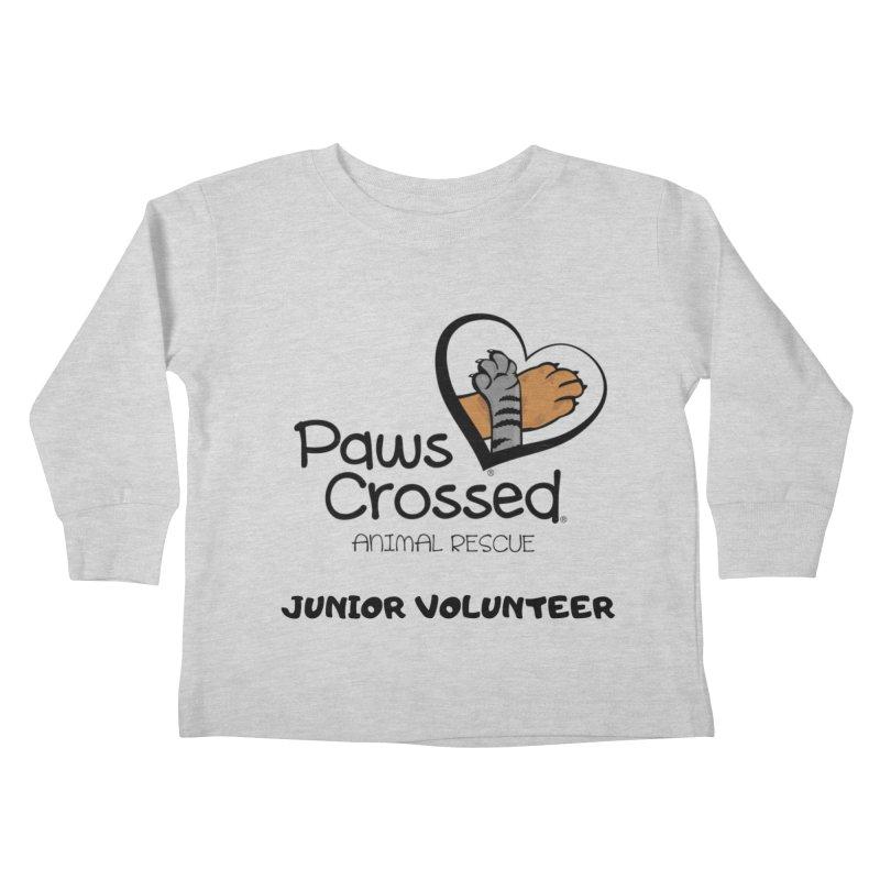 Junior Volunteer Kids Toddler Longsleeve T-Shirt by Paws Crossed Online Store