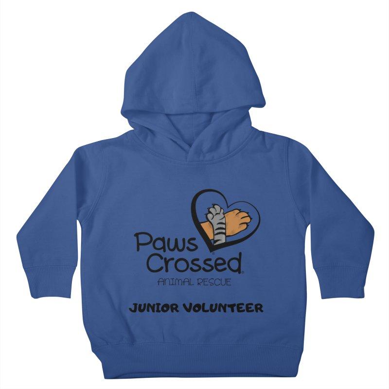 Junior Volunteer Kids Toddler Pullover Hoody by Paws Crossed Online Store