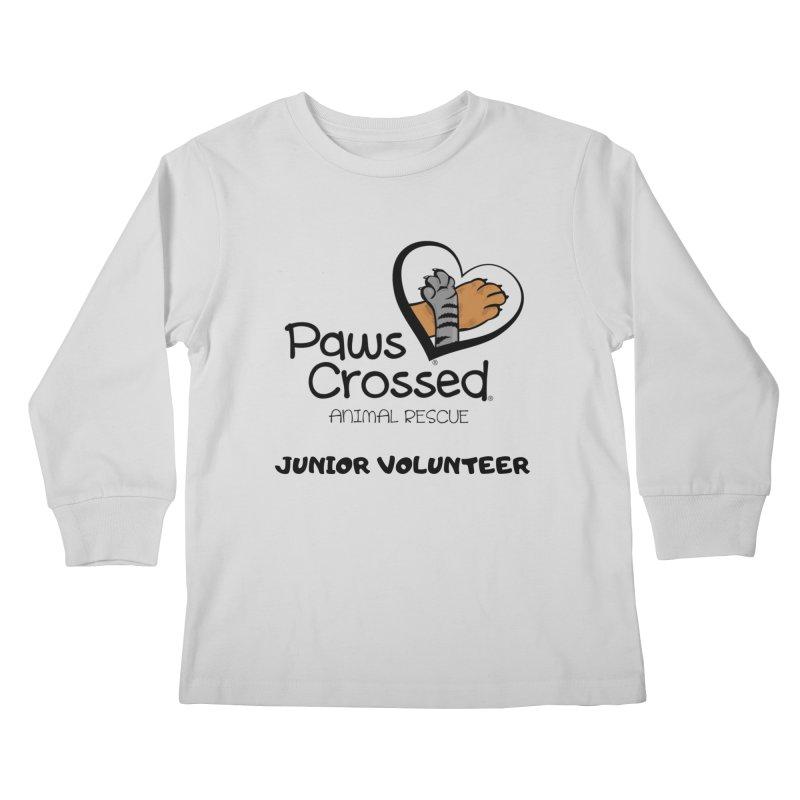 Junior Volunteer Kids Longsleeve T-Shirt by Paws Crossed Online Store