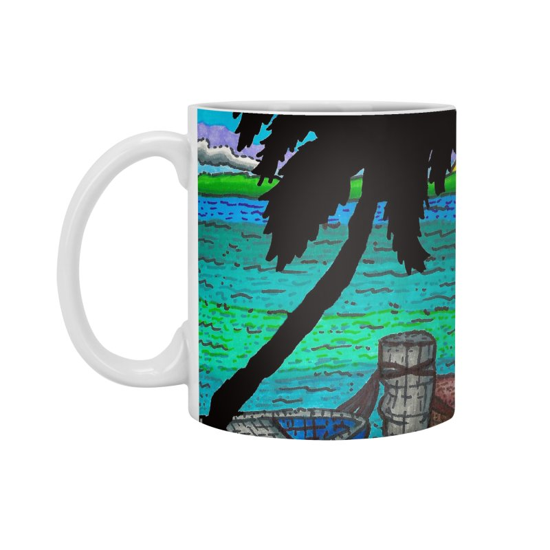 Paradise Accessories Mug by Paxton's Artist Shop
